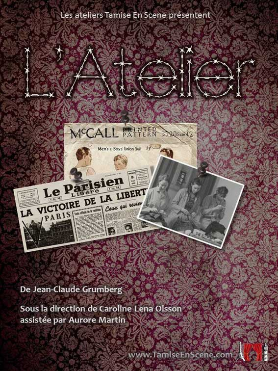 L atelier from jean claude grumberg 1st 2nd feb for Atelier st jean chaise bercante