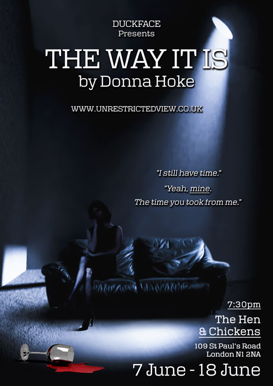 DUCKFACE presents THE WAY IT IS by Donna Hoke.