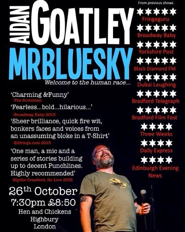 Aidan Goatley: Mr Blue Sky