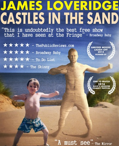 James Loveridge: Castles in the Sand