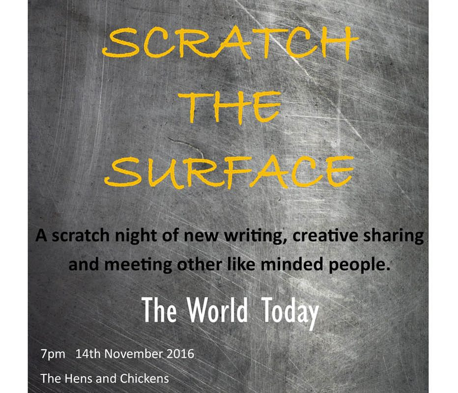 Instinct Theatre presents – Scratch The Surface