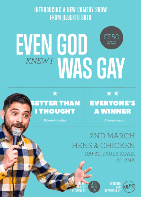 Jilberto Soto: Even God Knew I was Gay