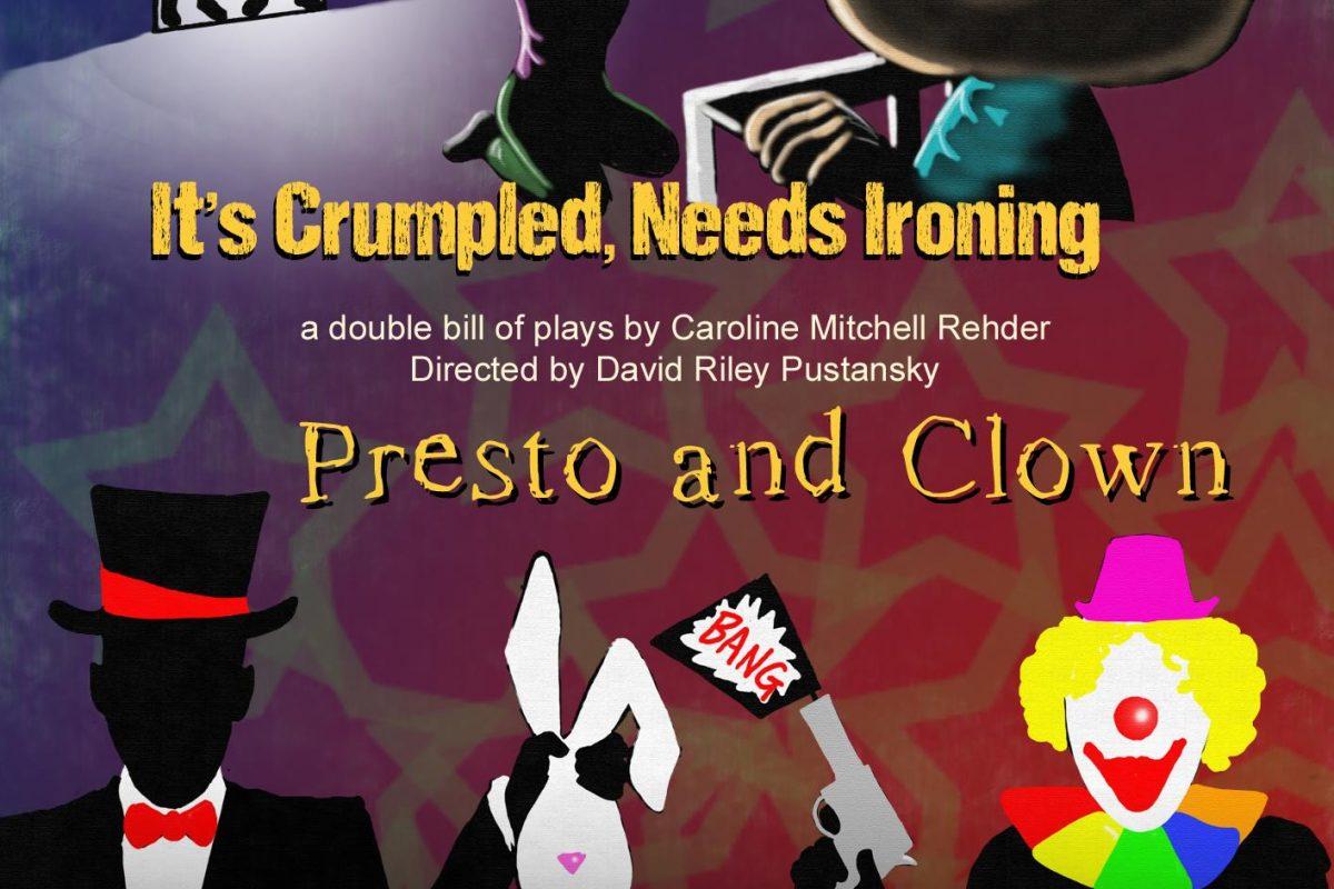It's Crumpled, Needs Ironing/Presto and Clown