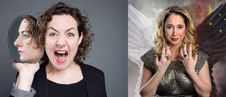 PREVIEWS FROM TIFF STEVENSON (from Mock The Week) AND JESSICA FOSTEKEW