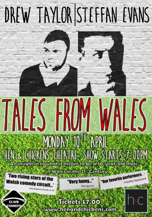 Drew Taylor & Steffan Evans: Tales From Wales