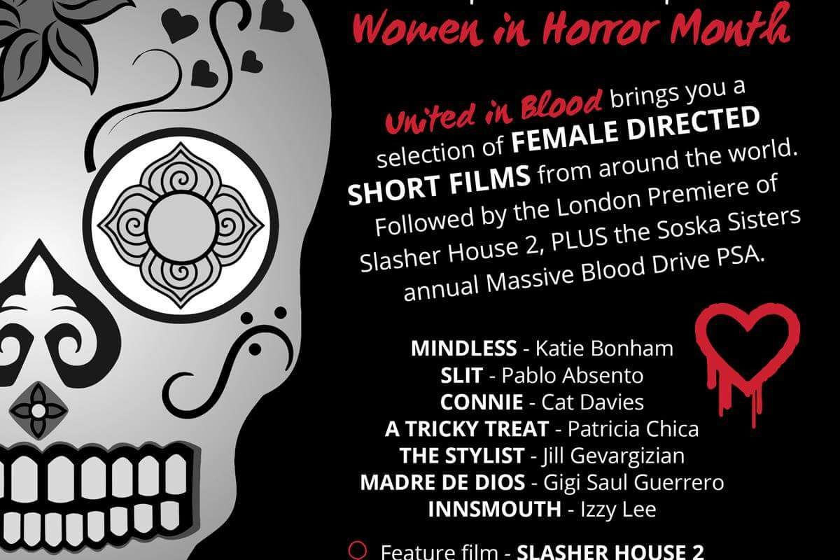 United in Blood (Vol 2 of 2): Celebrating Women in Horror