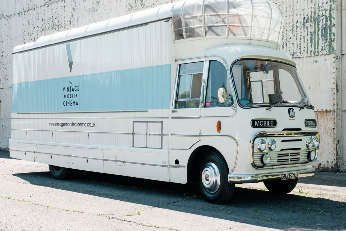 UV Film Festival: The Vintage Mobile Cinema (Saturday)
