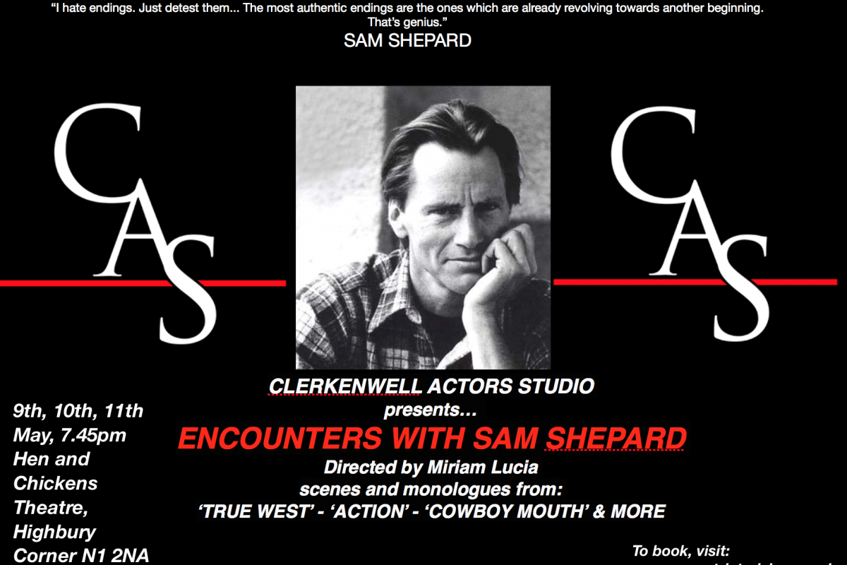 Encounters with Sam Shepard