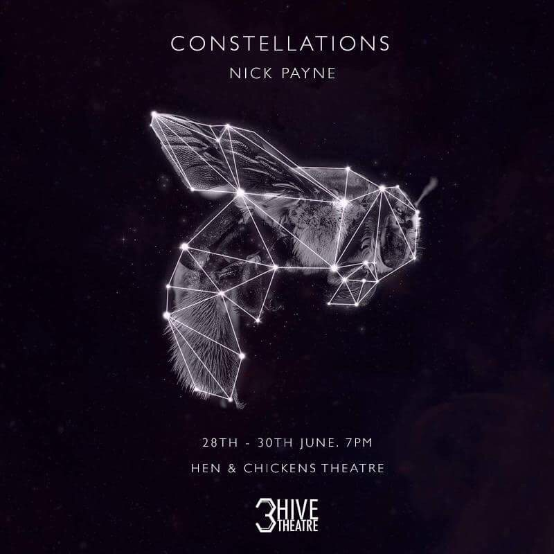 Constellations by Nick Payne performed by 3Hive Theatre