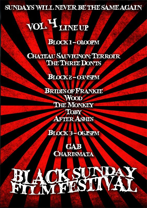 Black Sunday Film Festival ***CANCELLED***