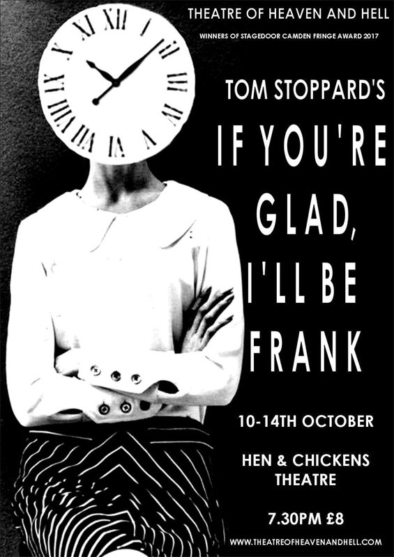 If You're Glad, I'll Be Frank by Tom Stoppard