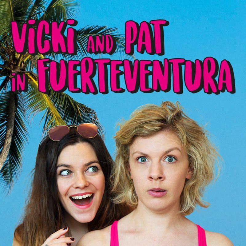 Vicki & Pat in Fuerteventura
