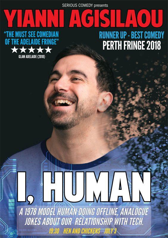 Yianni Agisilaou in 'I, Human.'