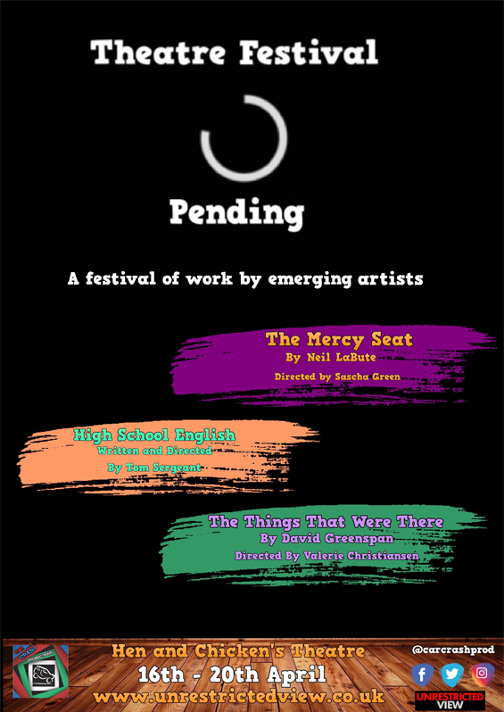 Theatre Festival Pending: A Festival of Work by Emerging Artists