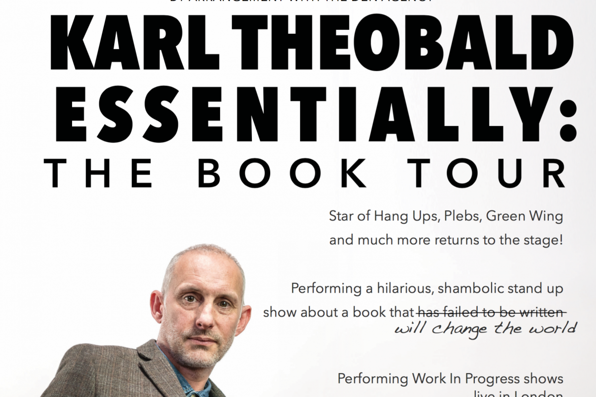 Karl Theobald Essentially – The Book Tour