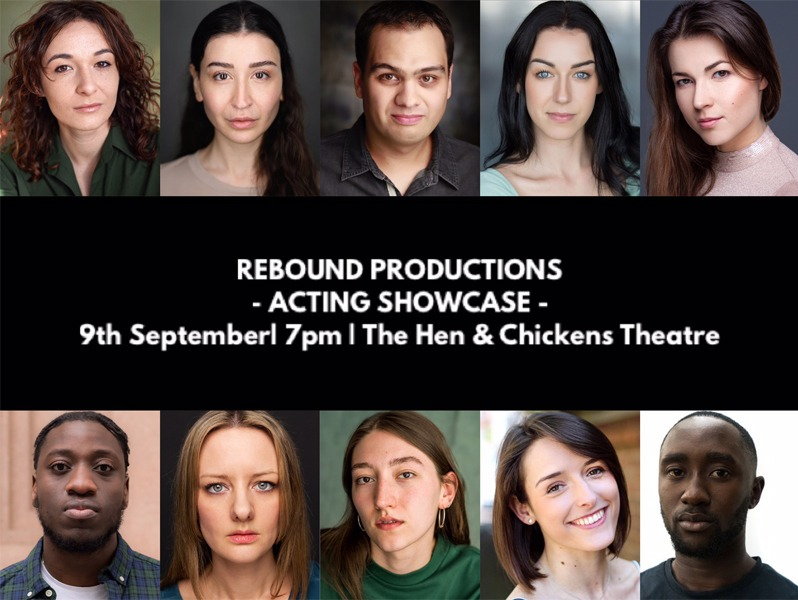 Rebound Productions Acting Showcase